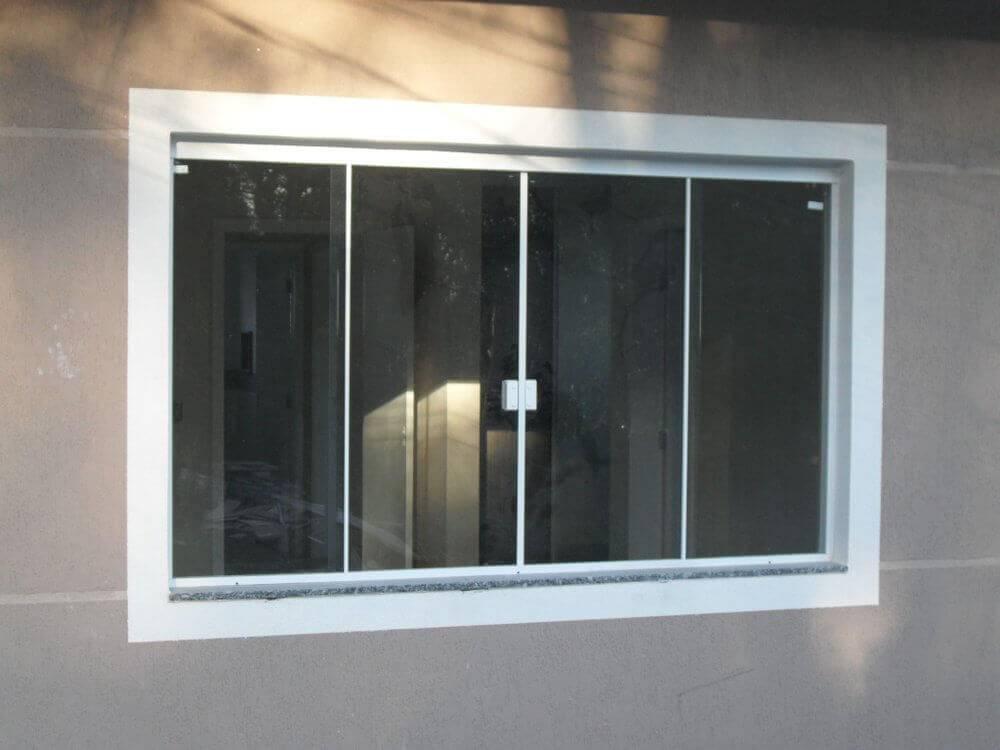 Janela de Correr - Rocha Esquadrias - Esquadrias de Aluminio e Vidros Temperados em Curitiba - Esquadrias de Alumínio em Curitiba