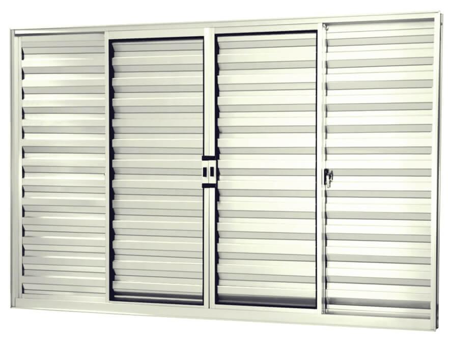 Janela Veneziana - Rocha Esquadrias - Esquadrias de Aluminio e Vidros Temperados em Curitiba -  Vidros Temperados em Curitiba