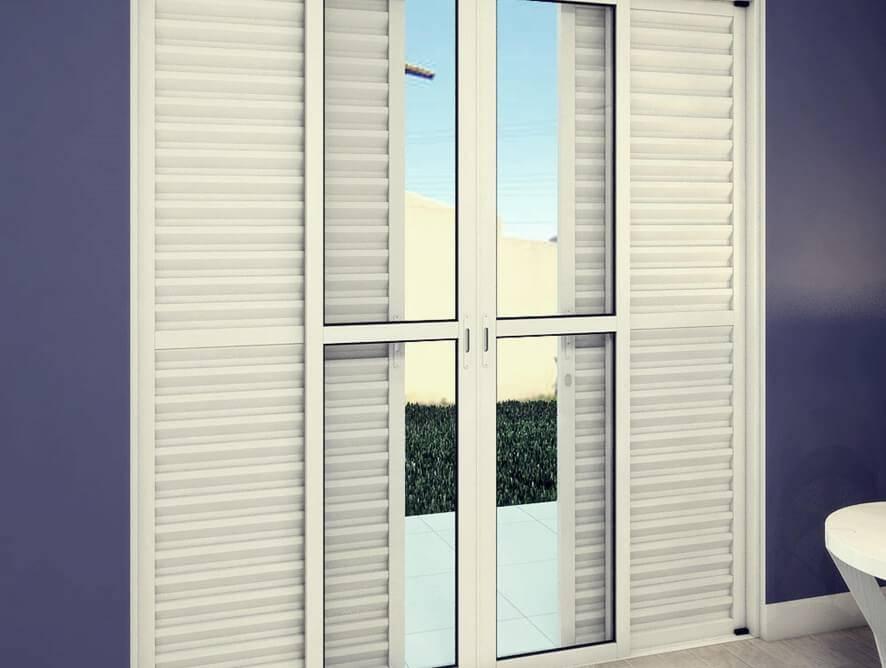 Porta Balcão - Rocha Esquadrias - Esquadrias de Aluminio e Vidros Temperados em Curitiba -  Vidros Temperados em Curitiba